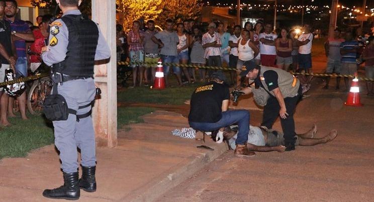 Ladrão mata cliente de padaria durante assalto em Rondonópolis