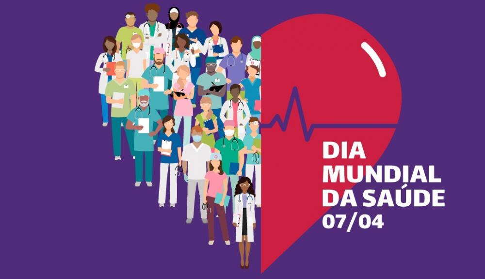 Foto: em homenagen ao dia Mundial da saúde