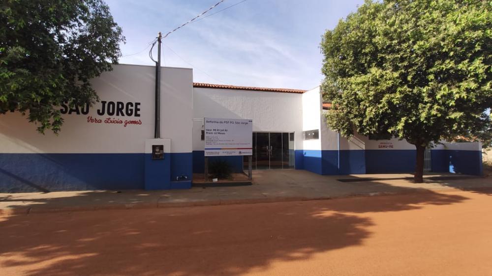 Reforma do PSF do Parque São Jorge foi concluída (Foto: Wheverton Barros)
