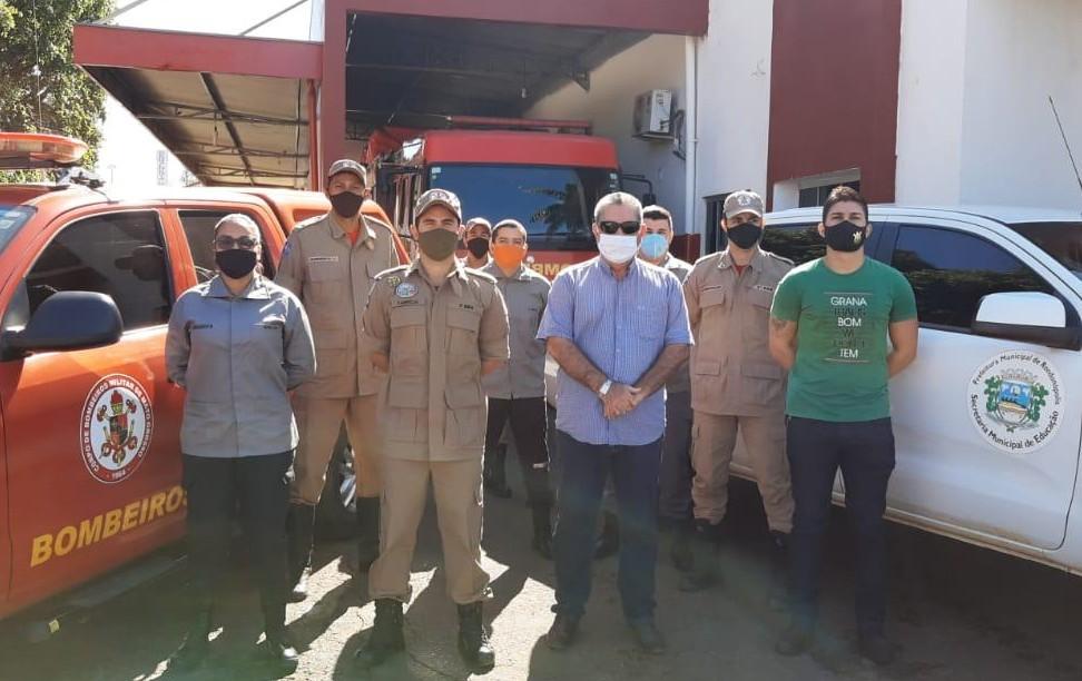 A Prefeitura de Rondonópolis, por meio do Gabinete de Apoio a Segurança Pública do município (Gasp), firmou parceria com o batalhão do Corpo de Bombeiros Militar