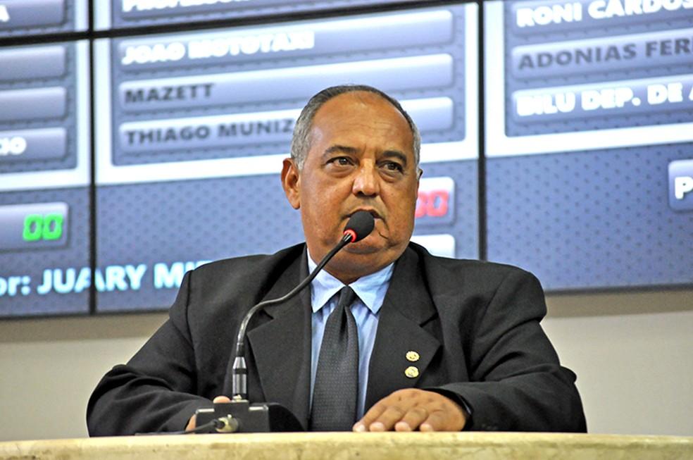 Juary Miranda está internado com Covid-19 — Foto: Divulgação
