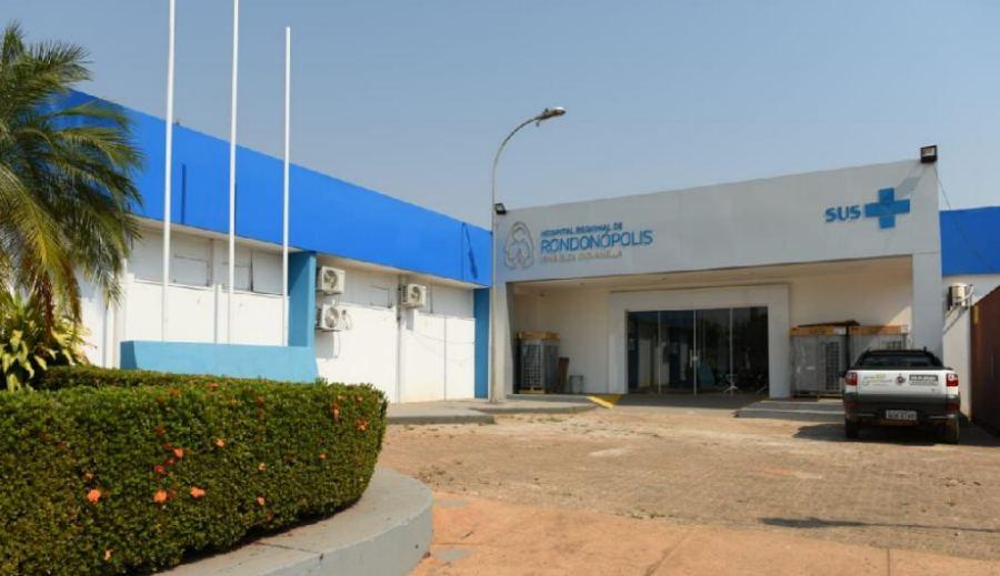 Hospital Regional de Rondonópolis – Foto: Secom-MT