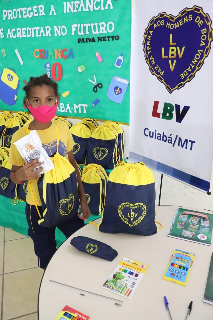 Contra a fome: LBV realiza entrega de doações para família vulneráveis em Cuiabá/MT