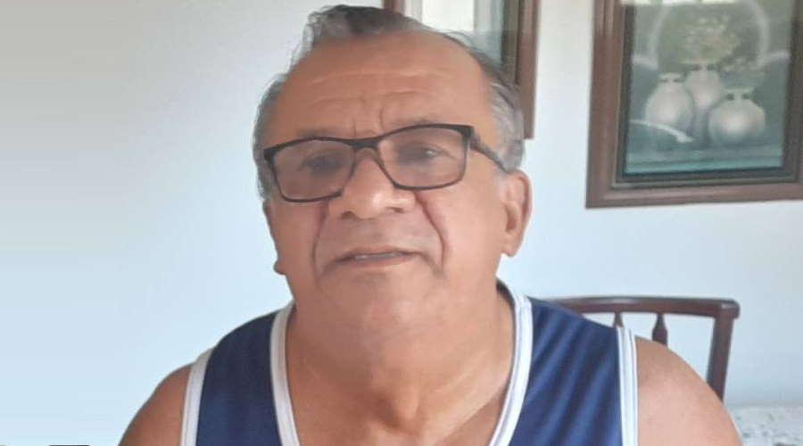 Manoel Santos era líder comunitário na região da Vila Operária, onde será velado. Foto: Arquivo pessoal.
