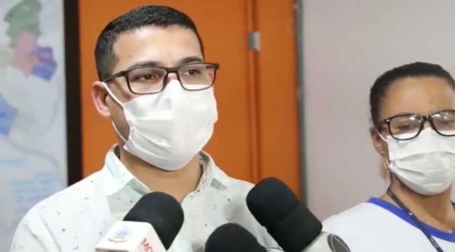 O secretário municipal de Saúde, Vinicius Amoroso, disse que equipes estão monitorando o caso e pediu atenção à população – Foto: Divulgação