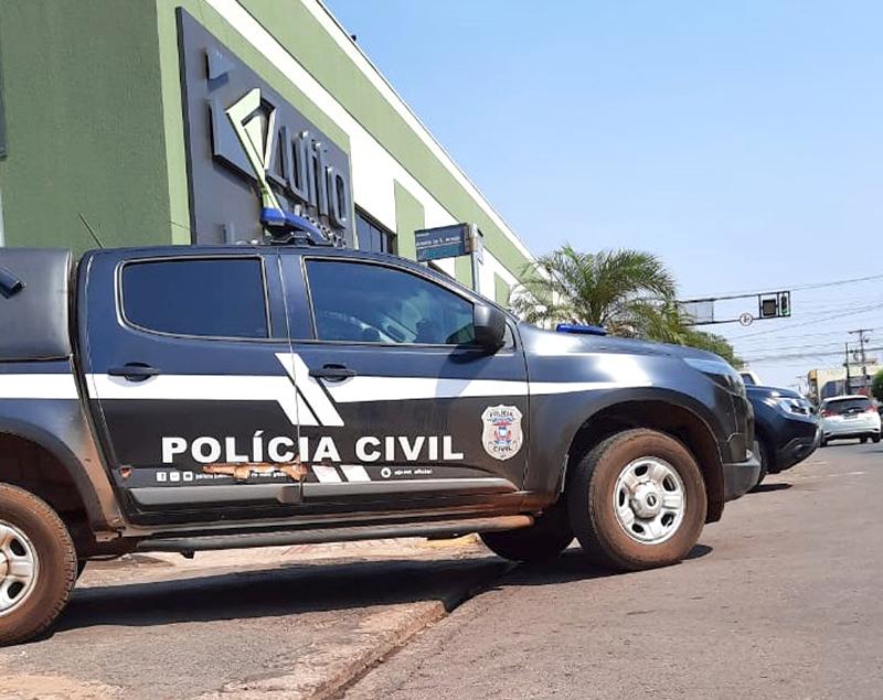 Polícia Civil cumpriu mandado de busca e apreensão na sede da Zuffo Assessoria Contábil, em Rondonópolis (Foto – Polícia Civil de Mato Grosso