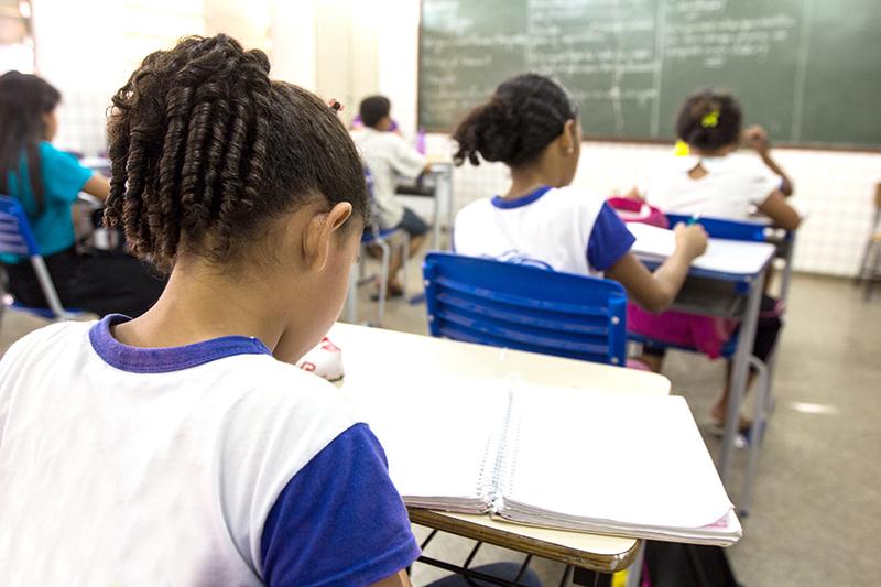 As aulas na rede estadual de educação de Mato Grosso terão o retorno 100% presencial no dia 18 de outubro (Foto – Arquivo)