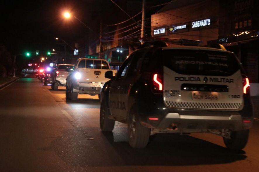 Homem foi preso pela Polícia Militar e levado para a Central de Flagrantes